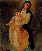Demande de guérison de Madame Reymondi. Huile sur toile, 1814.