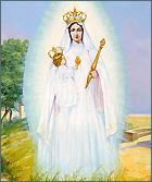 Vierge à l'Enfant dite Notre-Dame-de-Consolation. Huile sur carton, 1955.