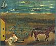 Accident de charrette de Alexis Orgias. Huile sur toile, 1840.